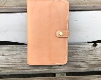 Leather Notebook Cover for Moleskine Pocket Notebook