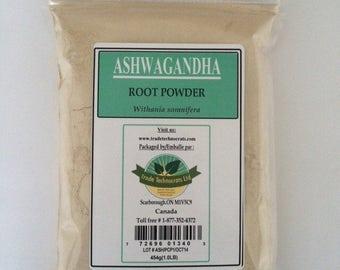 ASHWAGANDHA ROOT POWDER 454g (1.00LB)