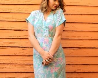 1980s dream in color dress