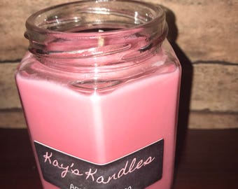 SALE!!! 1.00 OFF Apple Blossom - Pure Soy Candle Scented