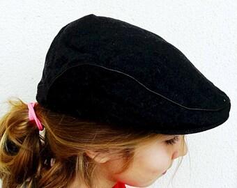 Mens hipster cap  newsboy cap for men mens flat cap gray ivy cap mens wool cap mens retro hat made in Portugal