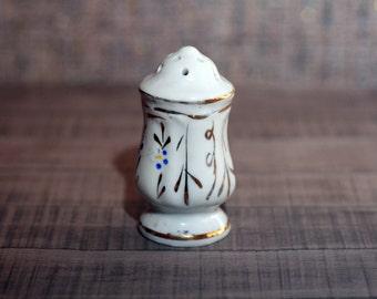 Vintage salt cellar,  Vintage salt or pepper container, Soviet era USSR, salt container, kitchen decor, pepper shaker, salt box