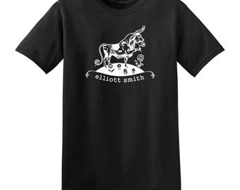 Elliott Smith t-shirt ferdinand the bull shirt classic mens ladies kids