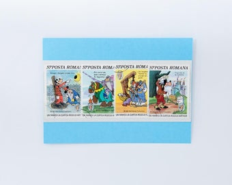 Disney Postage Stamps from Romania