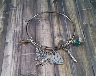 Group 10 Throne of Glass/ACOTAR Fandom Inspired Charm Bracelets