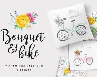 Bouquet & bike