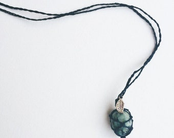 Turqouise Hemp Necklace