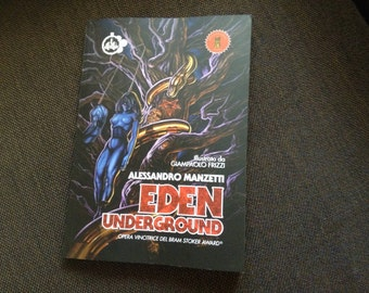 EDEN UNDERGROUND (Italian Edition) - Book signed by the Author