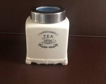 Vintage Looking Tea Caddy
