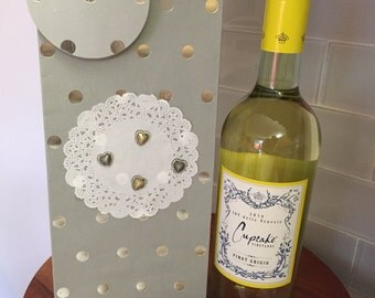 Hannukah Wine Bottle Gift Bag