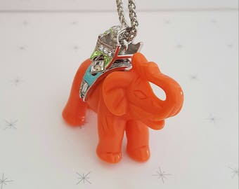KENNETH JAY LANE Lucky Elephant Pendant
