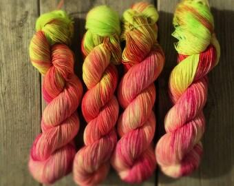 SALE Juicy Handdyed pure Merino Yarn