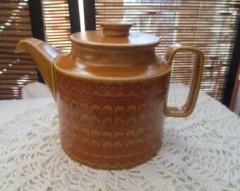 Retro Vintage Hornsea England Saffron Teapot (1978)