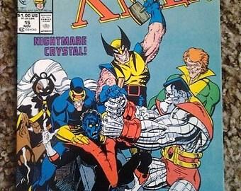 classic xmen comic issue 15//1987//marvel comics//vf condition