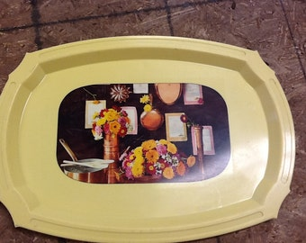 Vintage Retro Kitchen Tray