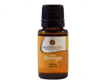 Organic Orange Essential Oil | 5 mL | 15 mL  30 mL | 100% Pure Therapeutic Grade