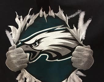 Eagles ripping chest shirt
