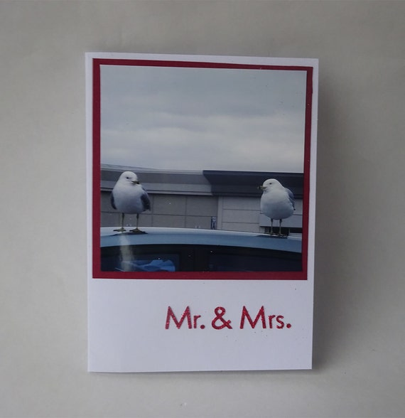 Love Card - Handmade Photo Card - Two Birds - #1166 - 2