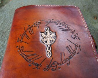 lord of ther rings, leather kindle case, lotr kindle case
