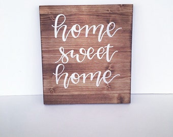 "Shop ""home sweet home sign"" in Kitchen & Dining"