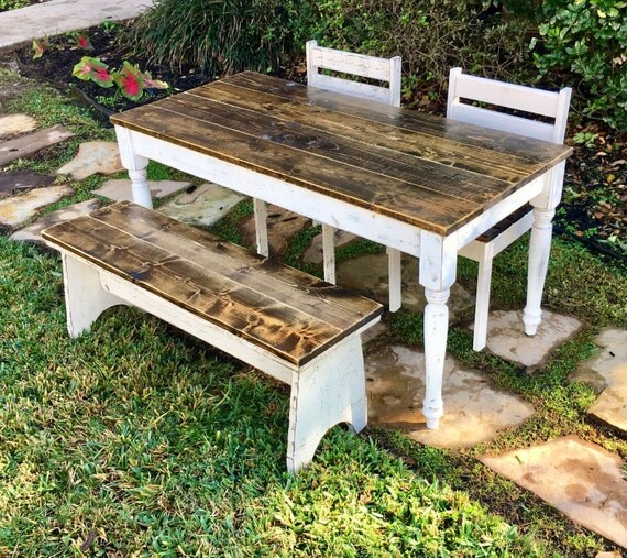 46 5 In Kids Table With Chairs And Or Bench
