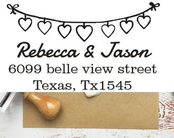 CUSTOM ADDRESS STAMP, Self Ink Return Address Stamp, Personalized Address Stamp, Self Ink Custom Address Stamp