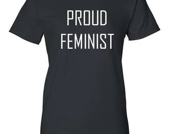 Ladies Proud Feminist Movement Shirt Women's Day March Gift For Her Feminism Tee