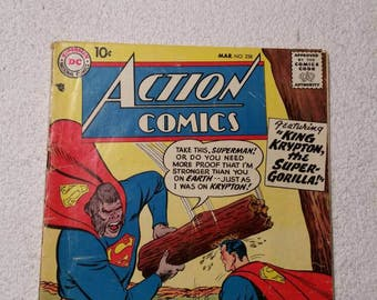 VG, #238 Action Comics (1958)