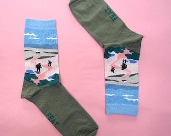 Hex Hiking socks