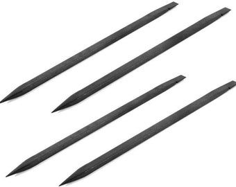ACENIX 4 x Black Nylon Plastic Spudger Tool For iPod iPad iPhone Tablet Laptop Repairs
