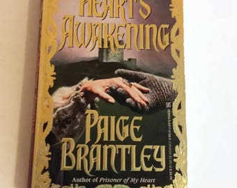 Heart's Awakening by Paige Brantley   Paperback 1st Printing   Historical Romance