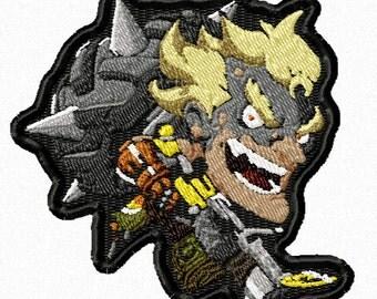 Junkrat Cute Spray Patch, Overwatch Cute Patch, Overwatch Patch