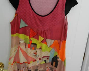 Anatopik dress-tunic (carousel) - size 44