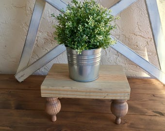 Farmhouse Pedestal Tray