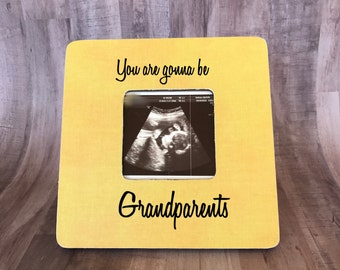 grandparents picture frame ultrasound picture frame baby announcement picture frame personalized picture frame