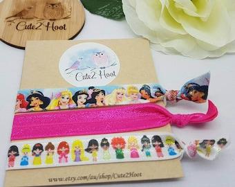 Elastic Hair Ties, Princess, FOE, Hair Ties