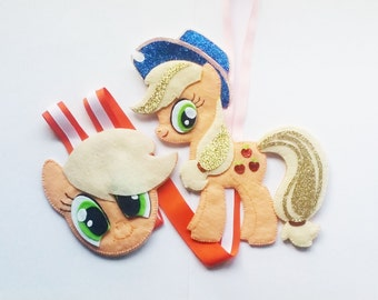 My Little Pony Hair Clip Holder (Orange) , hair clip organizer