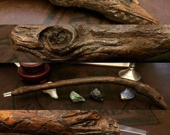 Hand Crafted Wand || Wicca || Pagan || Witchcraft || Magic || Ritual