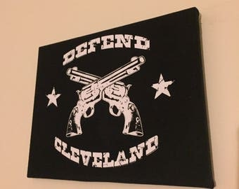Defend Cleveland Wall Art
