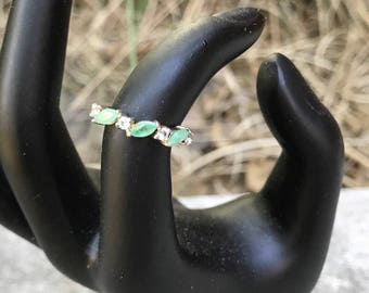 Petite sterling ring, size 5, #288