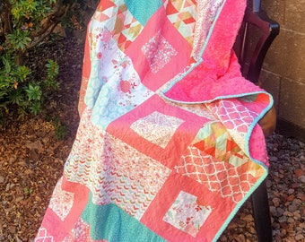 Charmingly Framed Quilt PDF Pattern