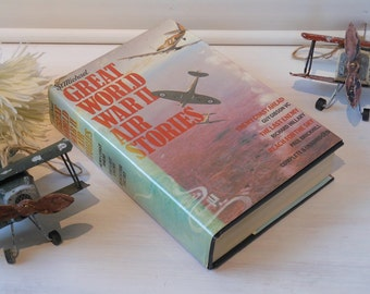 Great World War Two Air Stories. 3 in 1 Hardback book with dustjacket. Enemy Coast Ahead, The Last Enemy, Reach for the Sky