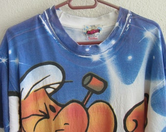 Popeye The Sailor Man King Syndicate Features Cartoon Full Print Size Large Made in Usa