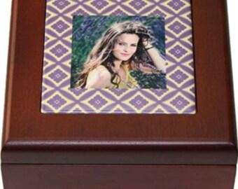 Mahogony Wood Jewelry Box