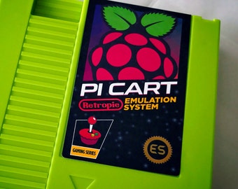 Retropie Pi Cart Label NES Sticker