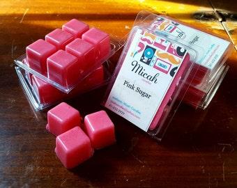 Pink Sugar Wax Cubes