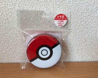 Pokemon center original monster ball 8 designs memo pads ,Message memo,Papers