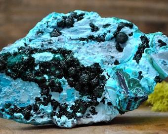 Chrysocolla Crystal Specimen - 1058.62