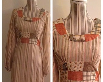 Gorgeous Vintage 70's This is Yours Dress