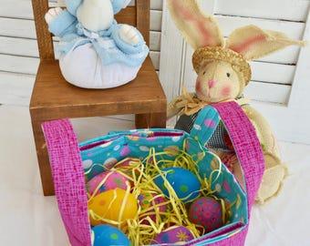 Fabric Easter Basket